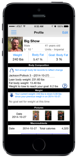 body tracker ios app a great mobile body tracker